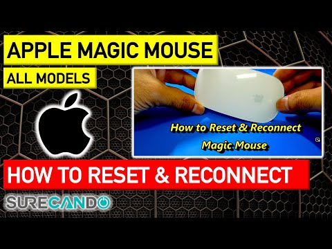 How To Reset & Reconnect Apple Magic Mouse Troubleshooting