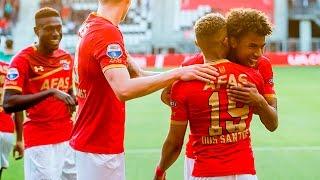 Goals AZ - FC Groningen (Play-offs)
