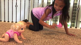Baby Alive Baby Go Bye-Bye Unboxing Toys Academy