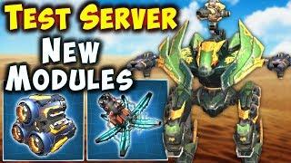 New ACCELERATOR & FORTIFIER Modules Test Server War Robots Gameplay WR