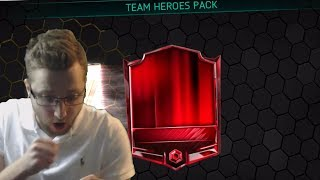 A Day of Firsts in FIFA Mobile 18! Elite Pulls in Team Hero Packs, 100 OVRs, and TOTW Captain Pulls!