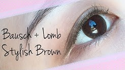 Bausch + Lomb LACELLE Stylish Brown