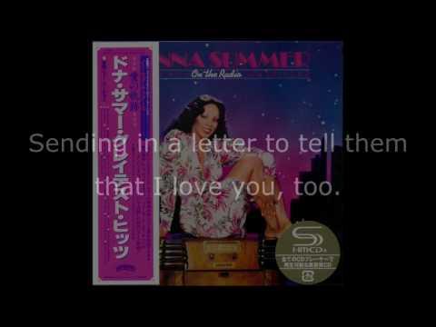 "Donna Summer - On the Radio (Long Version GH Edit) LYRICS SHM ""On the Radio: Greatest Hits I & II"""