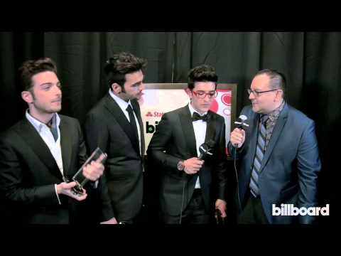 Il Volo: 2014 Billboard Latin Music Awards Backstage Interview