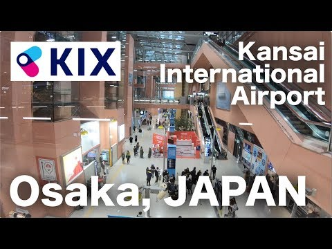 [4K] Walking in Kansai International Airport (KIX 関西国際空港)