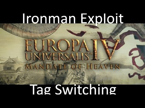 EU4 Ironman Exploit: Country Switching(Out dated)