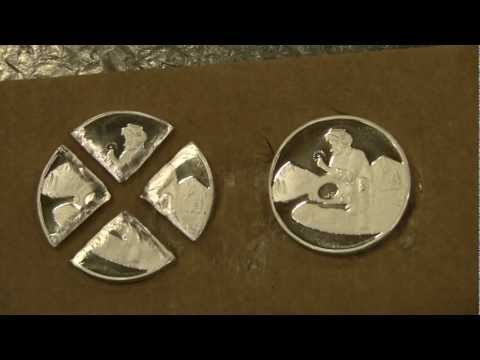 QSB Silver Bullion | Divisible Gold Panner - Part 2