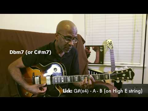 My Cherie Amour - Tutorial  On Guitar