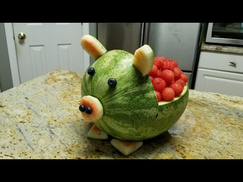 How to make a Watermelon Pig