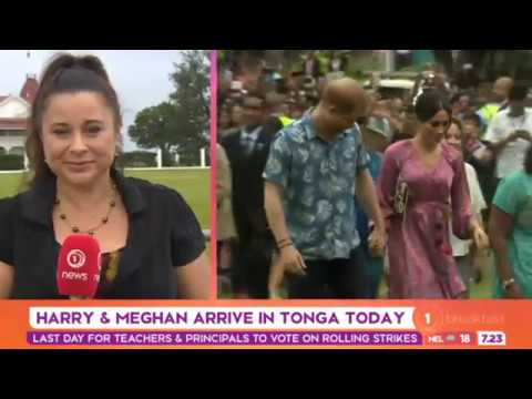 'The Tongan people are really excited – Harry and Meghan preparing for Nuku'alofa