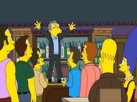 I Simpson Celebrano Madonna