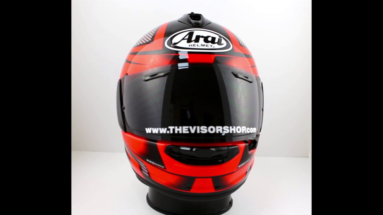 arai chaser x motorcycle helmet tough red thevisorshop youtube. Black Bedroom Furniture Sets. Home Design Ideas