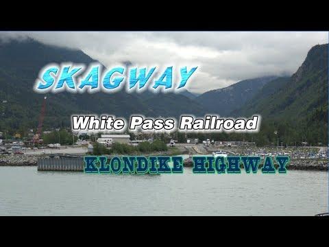 Skagway, Alaska and White Pass Railroad in 4K 2D