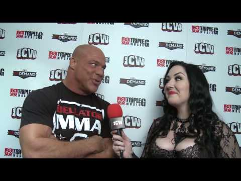 Kurt Angle predicts a tapout before his match with Joe Coffey at Fear & Loathing IX