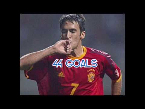 SPAINS / ESPAÑAS TOP 5 GOALSCORERS FOR THE NATIONAL FOOTBALL TEAM ALL TIME