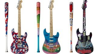 Look at These 31 Amazing Custom-Painted Fender Strats + Bats Being Auctioned Off For Charity | 2019 Video