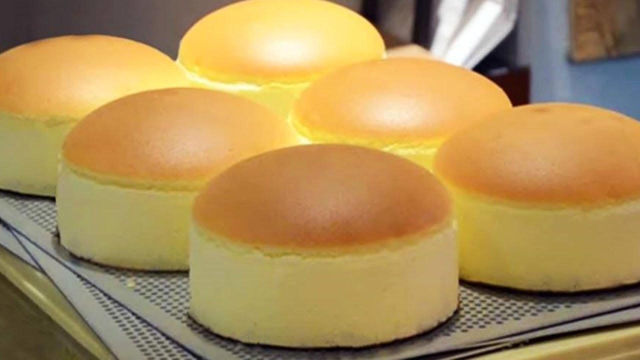 Recipe For Japanese Jiggly Cake: Jiggly Fluffy Japanese Cheese Cake