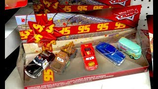 New 2018 Disney Cars 3 Toys Hunt - Radiator Springs Birthday Pack at Toys R us Target Toy Hunting