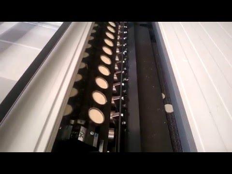 Linea dischi cera a caldo - Hot wax discs line