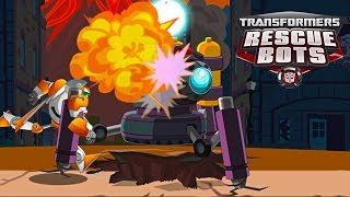 Transformers Rescue Bots: Disaster Dash Day 5 Dash Let's protect the city!