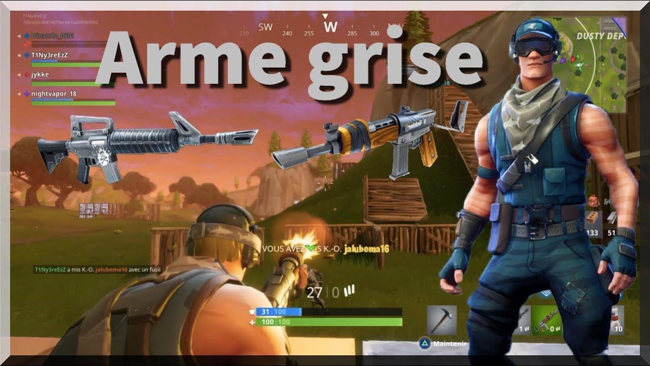 Fortnite  A Larme Grise
