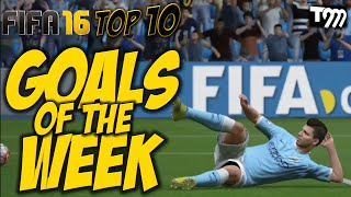 Fifa 16 – TOP 10 GOALS OF THE WEEK