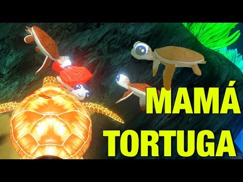 "BEBÉ TORTUGA! ""MI FAMILIA DE TORTUGUITAS"" 