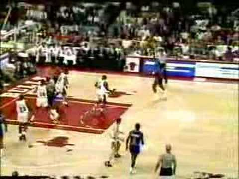 Chicago Bulls - Detroit Pistons   1991 Playoffs   ECF Game 2: Jordan MVP, leads the way with 35 pts