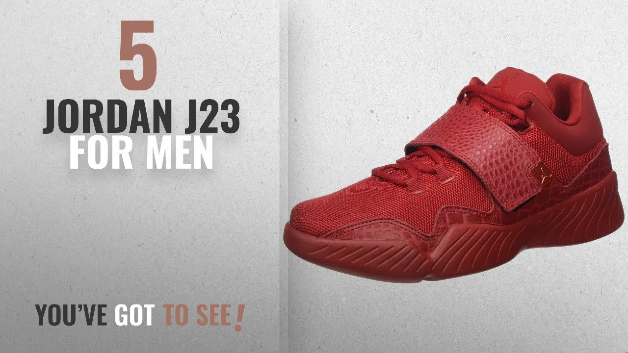 9c8add59cdb9 Top 10 Jordan J23  2018    JORDAN MENS JORDAN J23 GYMRED GYM RED GYM ...
