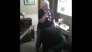 Grandma sings some Garbage :)