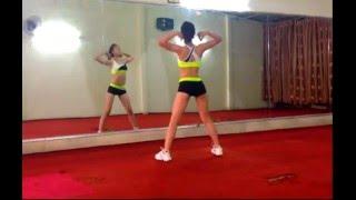Aerobic beginner thể dục thẩm mỹ giảm béo, giảm mỡ bụng 15p: Hóp mở