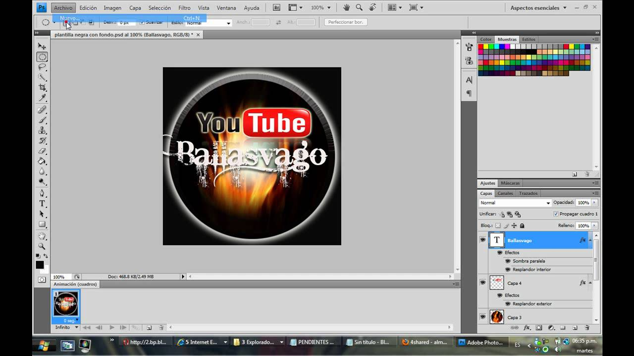 Descarga Plantillas Para tus Logos de Youtube - YouTube