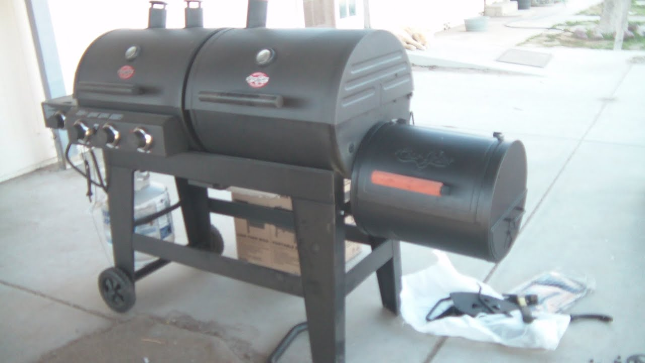 Char griller professional grill and smoker - Char Griller Professional Grill And Smoker 53