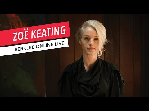 Zoë Keating: Berklee Online LIVE | Music Business | Q&A | 2017
