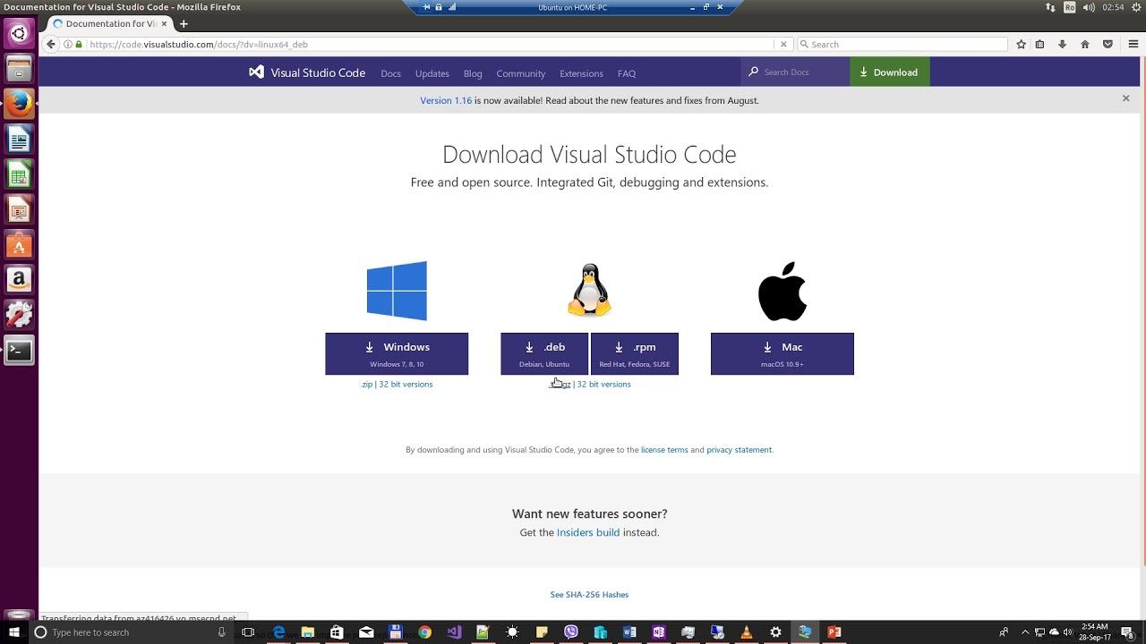Install OCAML and VsCode on Ubuntu