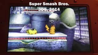 Super Smash Bros Stage Comparison: Unova Pokemon League