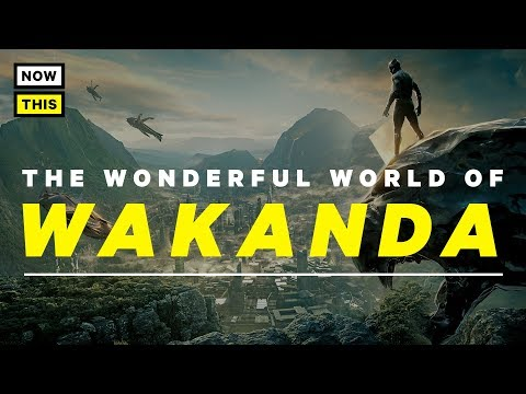 Black Panther Explained: The Wonderful World of Wakanda  NowThis Nerd