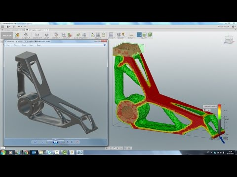 Generative Design with Fusion 360 : Lever Analysis : full workflow