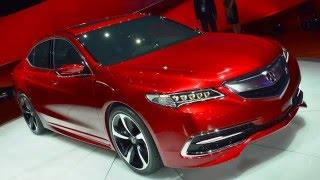 2017 Acura TLX  2-4 liter, 206-horsepower full review