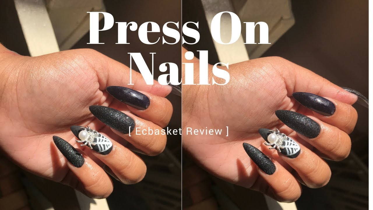 Press On Nails | Ecbasket Long Claw Nails - YouTube
