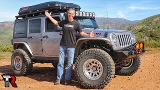 New Jeep Wrangler Modifications Update - Roof Top Tent, Suspension, Tires and more