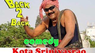 kota srinivasa rao Comedy Hits back 2 back comedy