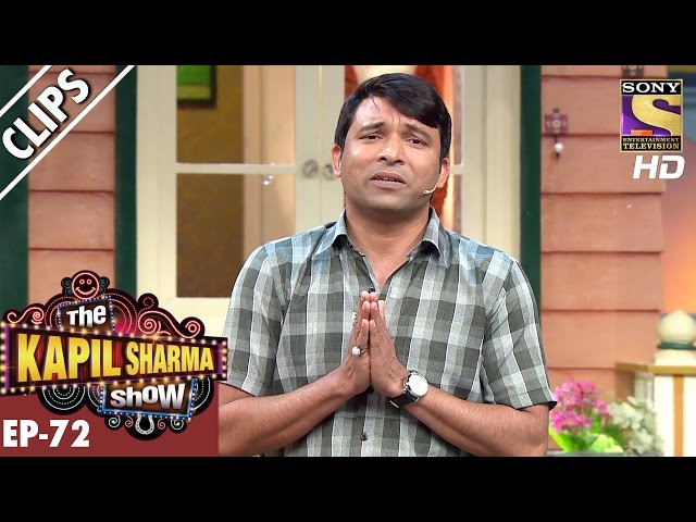 Chandus idea of joining Film Industry  - The Kapil Sharma Show – 7th Jan 2017