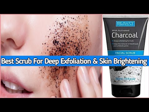 Best Charcoal Scrub For Deep Skin Cleaning & Skin Brightening|Beauty Formula Charcol Scrub Review