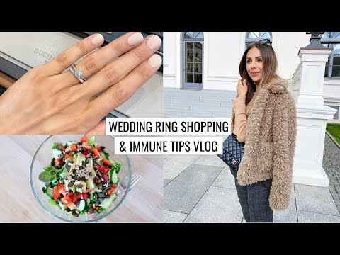 vlog-|-wedding-ring-shopping-&-immune-system-tips-|-annie-jaffrey