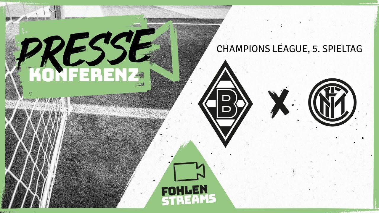 PK vor dem Spiel: Borussia - Inter Mailand