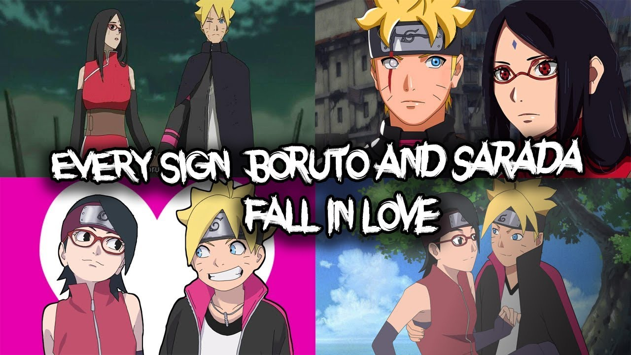 EVERY Sign WHY Boruto and Sarada Uchiha Fall in LOVE & Marry (Part 1)