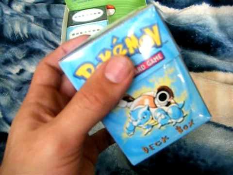 #1 Pokemon Base Set Deck Box