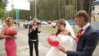 свадьба оформление красное яблоко ресторан Академия вкуса