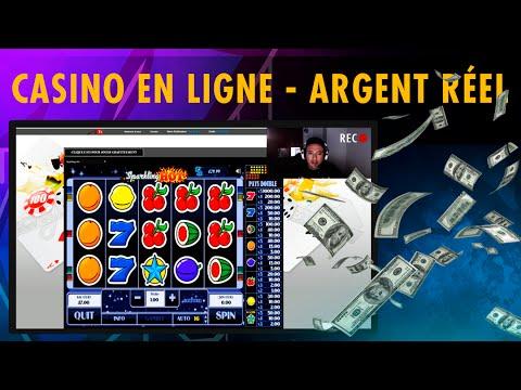 CASINO EN LIGNE - ARGENT RÉEL